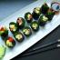 Kale sushi, raw vegan, by Live Love Raw