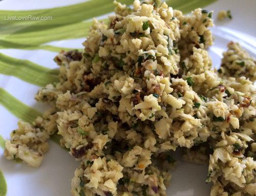 Gluten-free parsnip rice