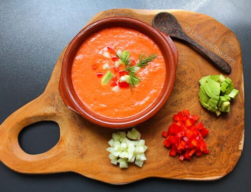 Gazpacho – raw vegan Spanish tomato soup