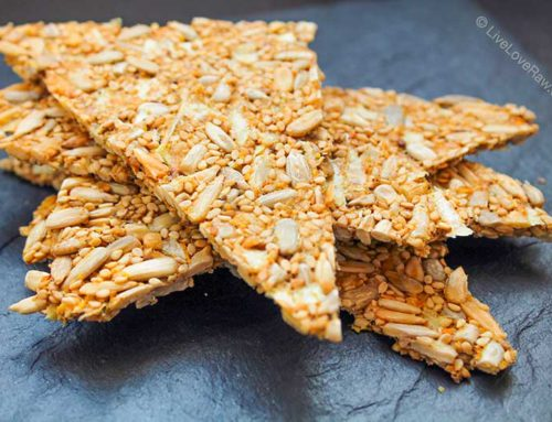 Nut-free raw crackers without a dehydrator or any special equipment