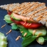 Raw vegan, dairy-free mayo sandwich by Live Love Raw