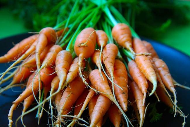 Baby carrot bunch