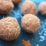 Sugar-free raw vegan cinnamon coconut balls by Anya Andreeva