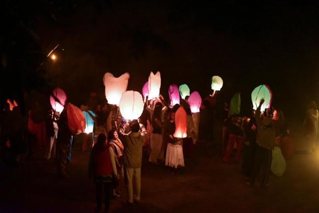 Nataraj lanterns
