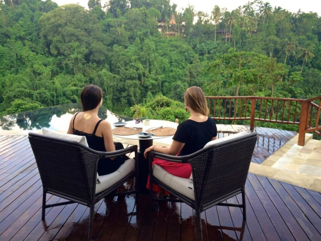 Anya Andreeva in Bali