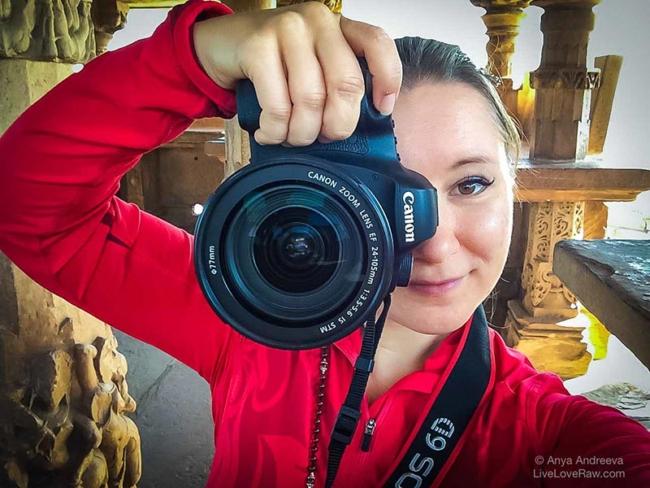 Anya Andreeva photographer, videographer, web design, graphic design, digital services worldwide
