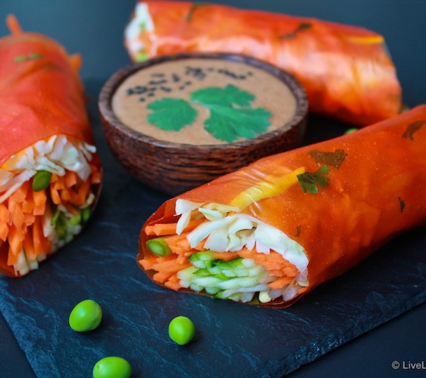 Balinese papaya wraps *NEW*