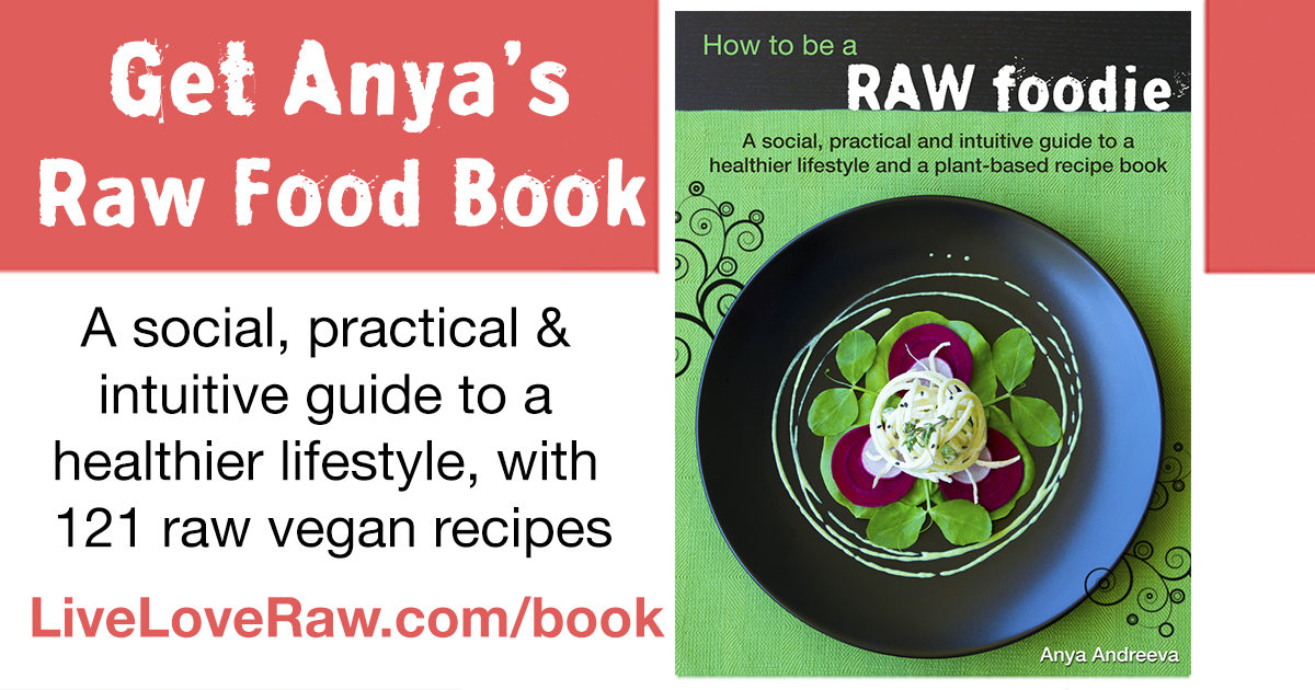 Get anyas raw vegan book how to be a raw foodie forumfinder Choice Image