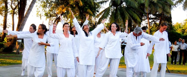 Akash Dharmaraj sacred sufi dancing retreat Gurdjieff