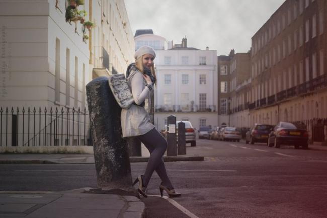 Anya Andreeva fashion London. Photography by Olga Pylaeva