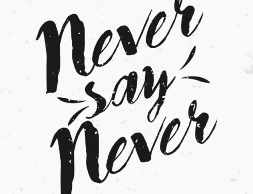 "What I learnt from doing things I said I'd ""NEVER"" do"