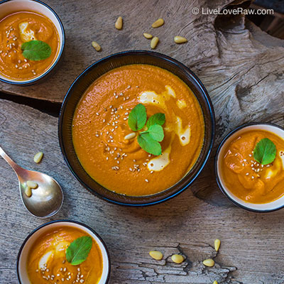 Spicy curry soup