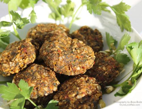 Sundried nut-free falafels