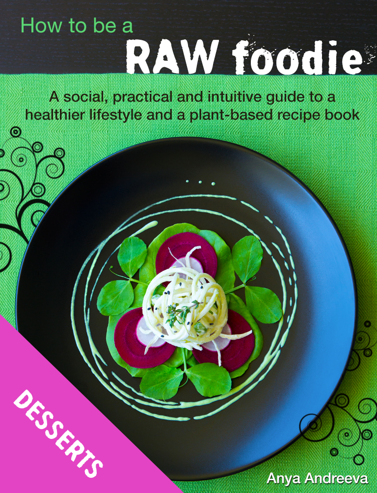 Desserts recipe e book live love raw anya andreevas healthy book raw vegan vegetarian breakfast desserts sweets cakes forumfinder Choice Image
