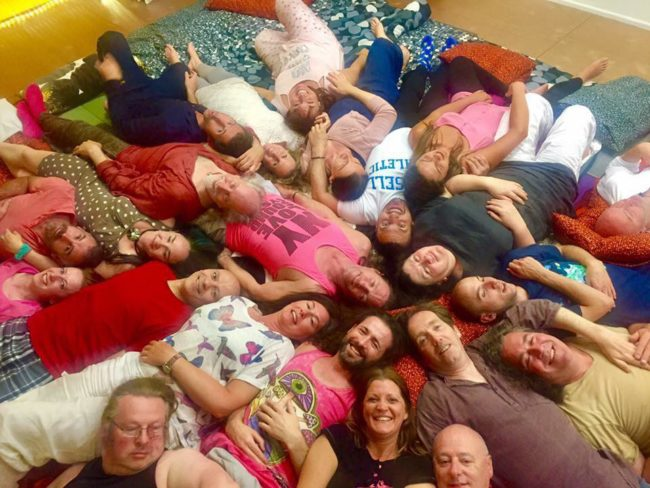 Cuddle party with Monique Darling and Peter Peterson, tantra workshop