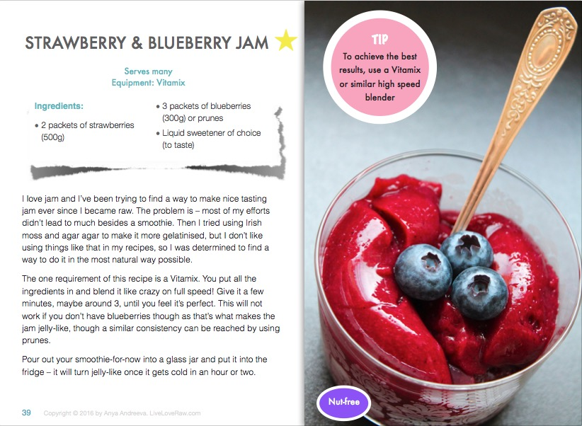 Breakfast smoothies recipe e book live love raw anya andreevas healthy book raw vegan vegetarian breakfast smoothies juices and drinks forumfinder Choice Image