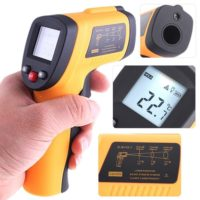 KKmoon Professional Grade Non-Contact LCD IR Infrared Digital Thermometer Laser Point
