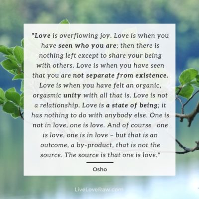 Tantra and sacred sexuality quote