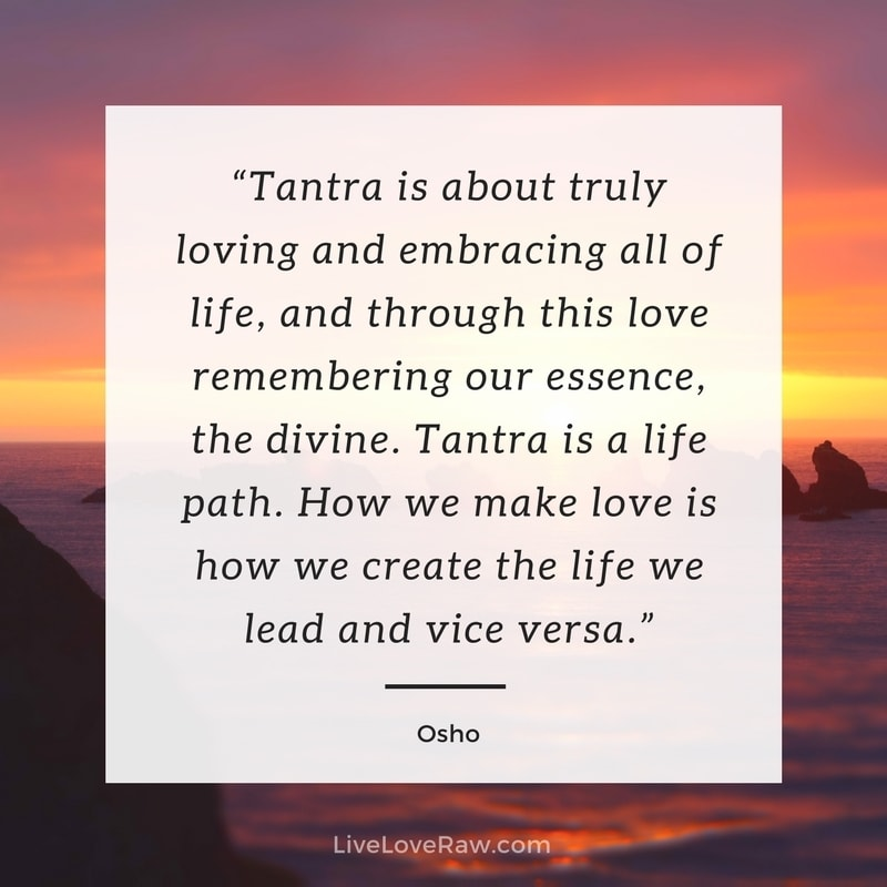Meaning of tantric sex