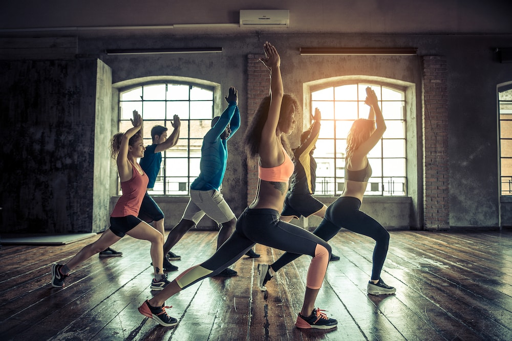 Group exercise, fitness, sports
