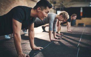 Man exercising, fitness, sports