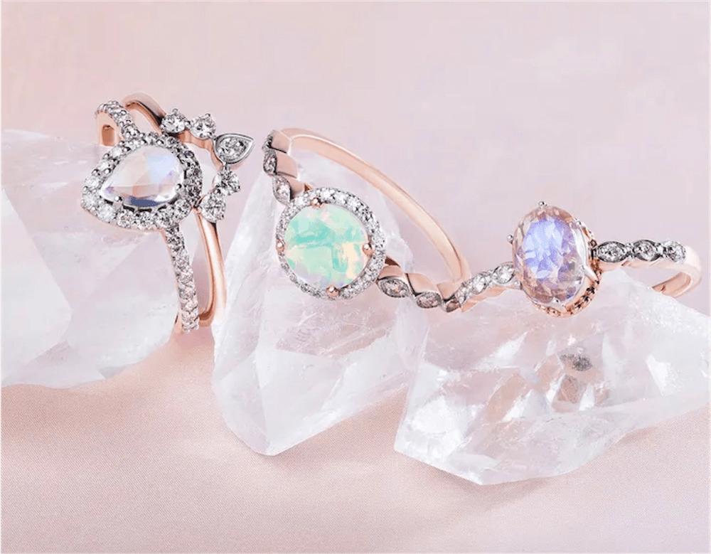 moon magic crystal jewellery