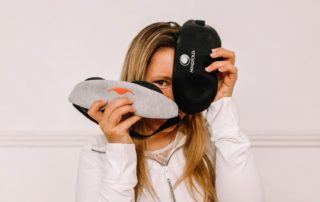 Manta sleep mask and Mindfold review by Anya Andreeva, Live Love Raw